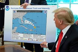 Donald Trumps Hurricane Sharpie Map And How The Media Made