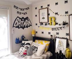 boys room decal superhero batman mask wall sticker 40pcs for nursery decor