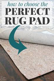 if your area rug slips and slides around you need a good rug pad