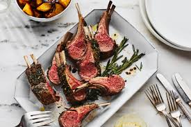 Rack Of Lamb With Garlic And Herbs Recipe Epicuriouscom