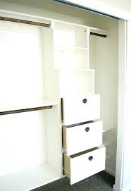 Reach In Closets Organizers Do It Yourself Modern Do It Yourself
