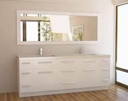 White Bathroom Vanity Cabinet Bathroom Bathroom Vanity Mirrors 295 Contemporary Bathroom