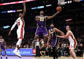 miami heat vs los angeles lakers nba