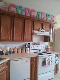 Cupcake Kitchen Accessories Decor