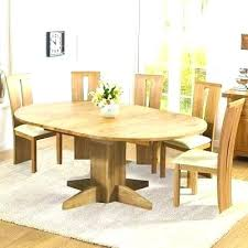 solid oak extending dining table and chairs round kitchen table sets for 6 extendable round dining