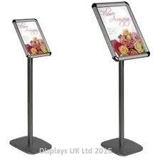 Uk Display Stands Ltd Sentry Floor Standing Poster Displays Stands Ipad Display Stands 57