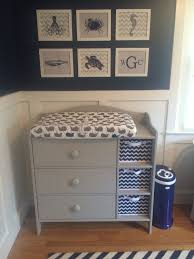 baby room furniture ideas. wesleyu0027s nautical navy and grey nursery changing table ikea prints baby room furniture ideas s