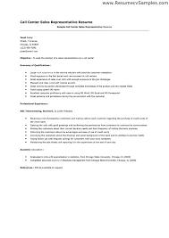 sample resume for call center representative. call center rep resume agi  mapeadosencolombia co . sample resume ...