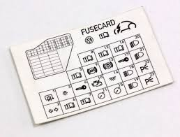 dash fuse box diagram card 98 10 vw beetle genuine 1c0 010 232 k vw fuse box diagram 2001 gti dash fuse box diagram card 98 10 vw beetle genuine 1c0 010 232 k