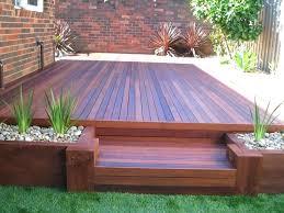 Small Deck Designs Backyard Unique Small Back Yard Ideas Tfastl