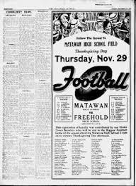 · November From 23 Matawan New On Matawan 8 Jersey Journal 1934