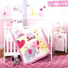 baby girl elephant nursery bedding pink tag decor art for nurse eleph