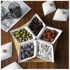 Khay bánh kẹo, mứt tết Sứ, gỗ tự nhiên Phong cách Nhật Bản giảm chỉ còn  430,000 đ