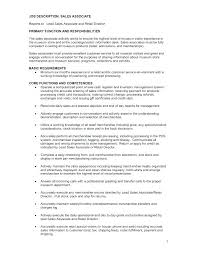 Sample Resume For Retail Sales Associate Retail Resume Sample Best