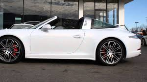 2016 Porsche 911 Targa 4S For Sale Columbus Ohio - YouTube