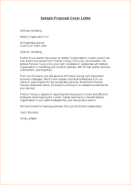 proposal letter example proposal letter sample business proposal templated business