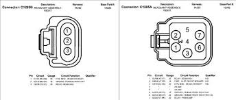 headlamp wiring diagram connector pinout needed ford flex forum image