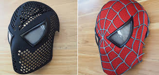 now anyone can be spider man with this incredible 3d printed spidey mask