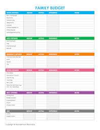 budgeting worksheet - Ins.ssrenterprises.co