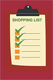 Grocery Checklist My Shopping List Notebook Plan Your Shopping Trips With