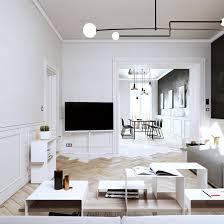 3d Ontwerpen Van Een Modern Klassiek Appartement Inrichting Huiscom