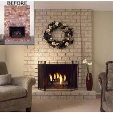 clear matte finish for fireplace painting brick paint sealer with painted fireplace