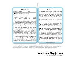 Bunco Score Sheets Template Stunning Free Printable Bunco Rules And Score Sheets Scribd Bunco