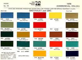44 Factual Gm Paint Colors
