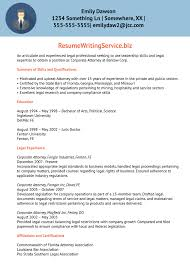 Professional Lawyer Resume Sample Corporate Samples Format India
