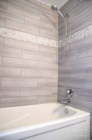 love the tile choices and the more modern ness of the shower tub combo san marco viva linen the marble hexagon accent tile from home depot