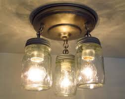 mason jar track lighting. canning jar new pint ceiling light trio mason chandelier lighting farmhouse flush mount fixture track e