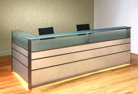 custom reception desk enchanting glass reception desk steel and glass reception desk custom reception desks custom