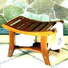 wooden shower chair shower stool natural intended for awesome home wooden shower bench wood shower stool wood shower stool