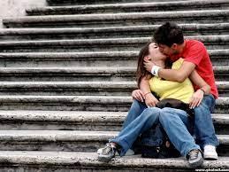 Couple Kissing Wallpaper on WallpaperSafari