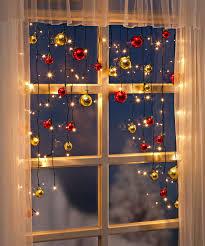 Weihnachtsdeko Fenster Kugeln