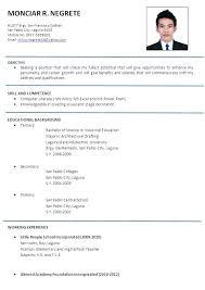 Industrial Engineer Resume Sample Resume For Industrial Engineer