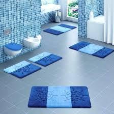 unique bathroom rug dimension modern bath rugs rug set cool for bathroom design with blue color