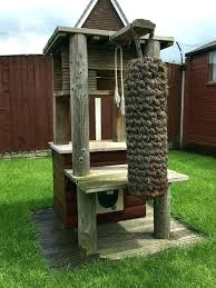 outdoor cat perch play tower out door home made den for my area build 8 diameter