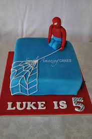 Simply Amazing Cakes Lukes Spiderman Cake