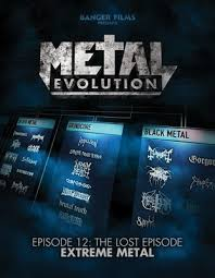 Vh1 Metal Evolution Chart