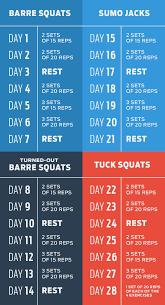the 4 week squat plan myfitnesspal