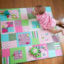598 best Baby images on Pinterest | DIY, Cushions and Decor ideas & Add fun and fuction to a stroller-size quilt by sewing ribbon and rickrack  loops Adamdwight.com