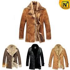 mens leather shearling coat cw138270 cwmalls com