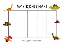 Printable Reward Charts My Bored Toddler