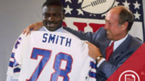 April 30 in Bills History: Bruce Smith drafted No. 1 overall, Joe D goes on  the Wall