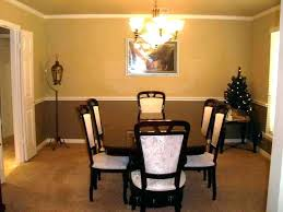 dining room chair rail ideas for molding moulding living cha