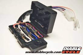 diablo cycle • parts by model • kawasaki fours z1 kz kawasaki kz kh fuse box