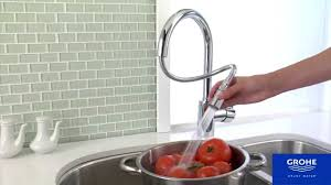 Grohe Concetto Kitchen Faucet Grohe 32655001 Concettto Kitchen Faucet Youtube