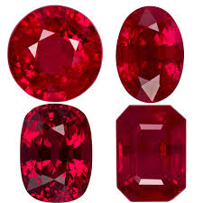 Ruby Gemstone Color Chart Rubies Natural Loose Rubies Ruby Gemstones For Sale At