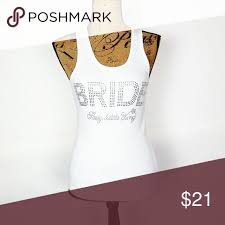 BRIDE Tank <b>Victoria's Secret Sexy Little</b> Things Rhinestone BRIDE ...